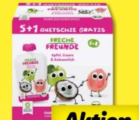Bio Quetschie Multipack von Erdbär Freche Freunde