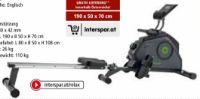 Cardio Fit Rower R30 von Tunturi