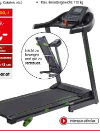 Laufband Cardio Fit T30 von Tunturi