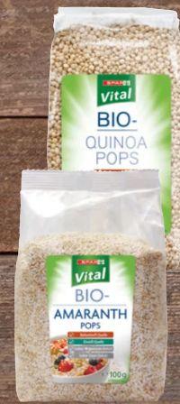 Bio-Pops von Spar Vital
