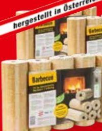 Holzbriketts von Barbecue
