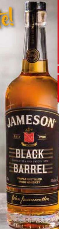 Irish Whiskey Black Barrel von Jameson