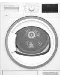 Wärmepumpentrockner TKF8506 von Elektrabregenz