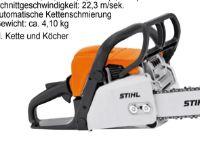 Benzin-Kettensäge MS 180-35 von Stihl
