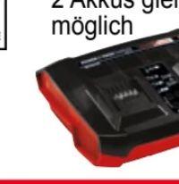 Doppel-Ladegerät Twincharger von Einhell