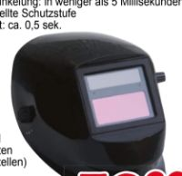 Elektronik-Solar-Schweißschirme von Yellow Profi Line