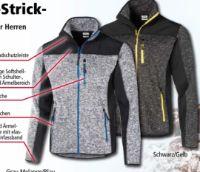 Herren Arbeits-Strickfleece-Jacke von Toptex Pro