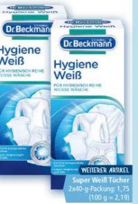 Hygiene Weiß von Dr. Beckmann
