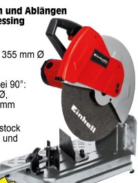 Metall-Trennmaschine TC-MC 355 von Einhell