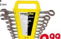 Gabel-Ringschlüssel-Satz von Yellow Profi Line