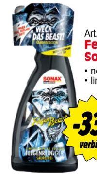 Felgenreiniger Felgen Beast von Sonax