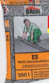 ES-Perlit Estrichschüttung von Bachl