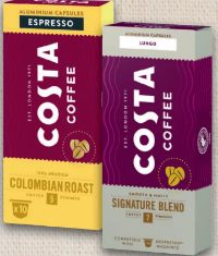 Kaffeekapseln von Costa Coffee