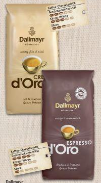 Espresso D'oro von Dallmayr