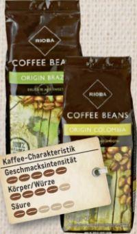 Kaffee Origin von Rioba