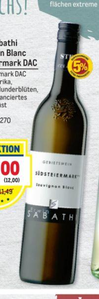 Sauvignon Blanc von Weingut Erwin Sabathi