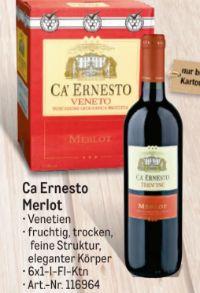 Merlot von Ca Ernesto