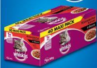 Katzennassnahrung von Whiskas