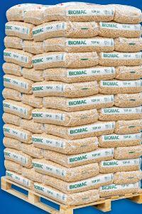 Holzpellets von Biomac