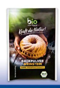 Bio Backpulver Weinstein von Bio Zentrale