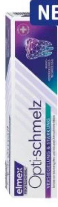 Professional Zahncreme Opti-schmelz von Elmex