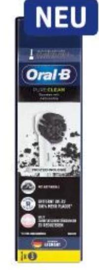 Pure Clean Ersatz-Aufsteckbürsten von Oral-B