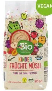 Kinder Früchte Müsli von dmBio
