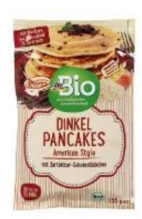 Dinkel Pancakes American Style von dmBio