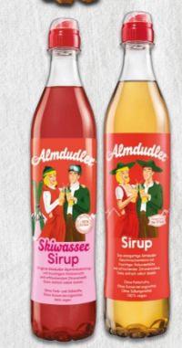 Sirup von Almdudler