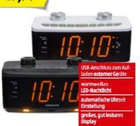 Uhrenradio mit Nachtlicht P66173 von Medion