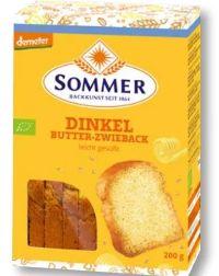 Dinkel-Butter Zwieback von Sommer