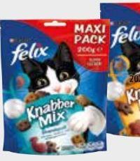 Felix Knabber Mix Katzensnacks von Purina