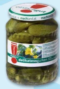 Delikatessgurken von Machland