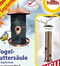 Vogelfuttersäule