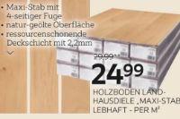 Holzboden Landhausdiele Maxi-Stab von ambiente