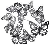Wanddeko Schmetterling von Ambia
