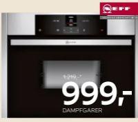 Dampfgarer CDR1500N von Neff