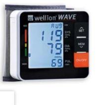 Unterarm-Blutdruckmessgerät Wave von Wellion