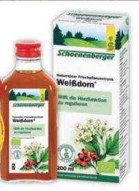 Schoenenberger Frischpflanzentrunk Weißdorn von Salus