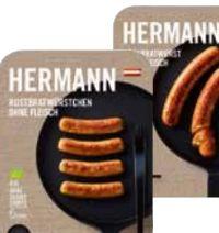 Bio Käsebratwurst von Hermann Fleischlos