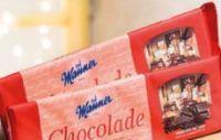 Haushaltsschokolade von Manner