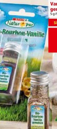 Bio-Bourbon Vanille gemahlen von Spar Natur pur