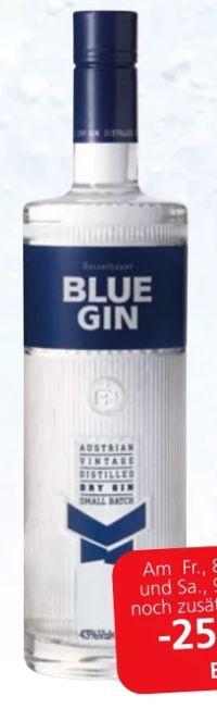 Blue Gin von Reisetbauer