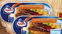 Filetierte Bratheringe von Appel