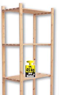 Holzregal Simple von Regalux