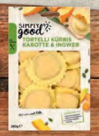 Tortelli Kürbis Karotte von Simply Good