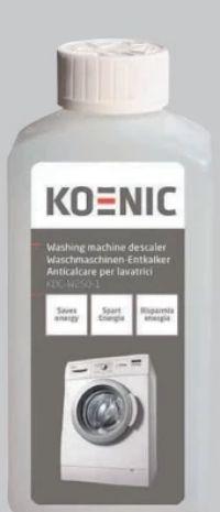 Waschmaschinen Entkalker KDC-W250-1 von Koenic