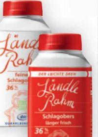 Ländle Rahm Schlagobers von Vorarlbergmilch