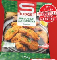 Mini Schnitzel von S Budget