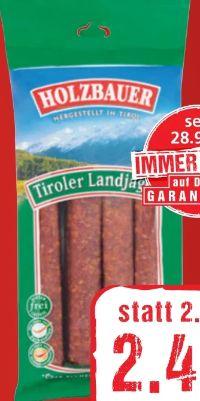 Tiroler Landjäger von Holzbauer